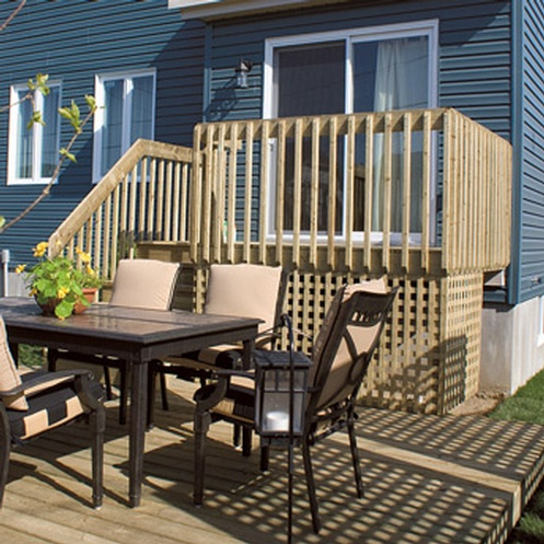 Deck-patio-treated-wood