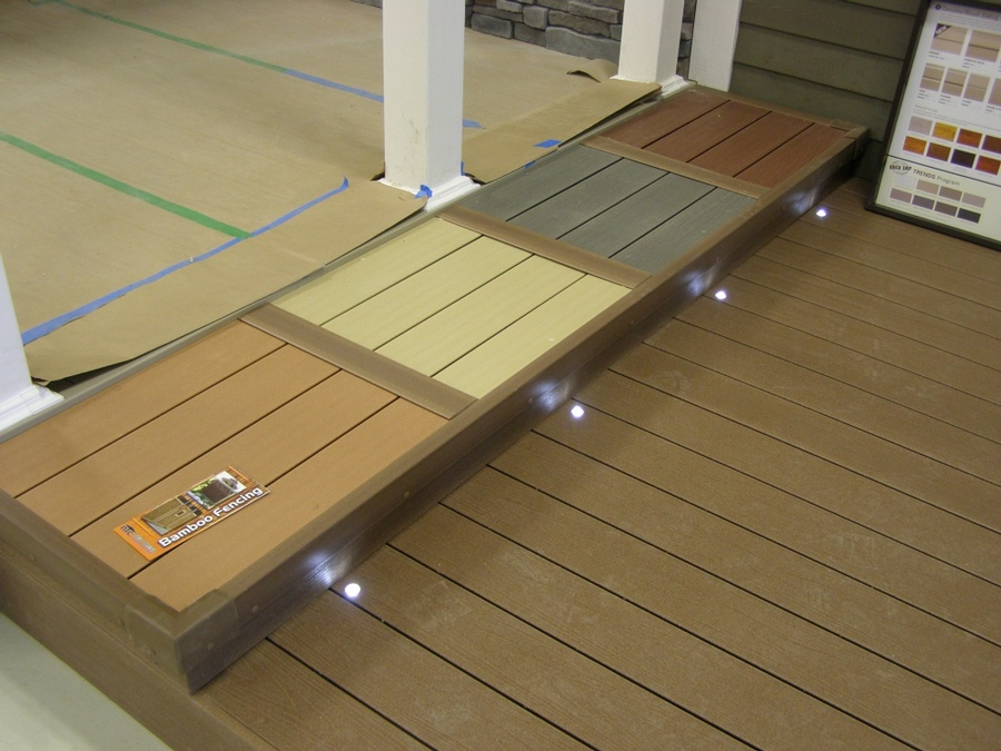 Bfd rona products photo gallery composite decks for Composite decking products