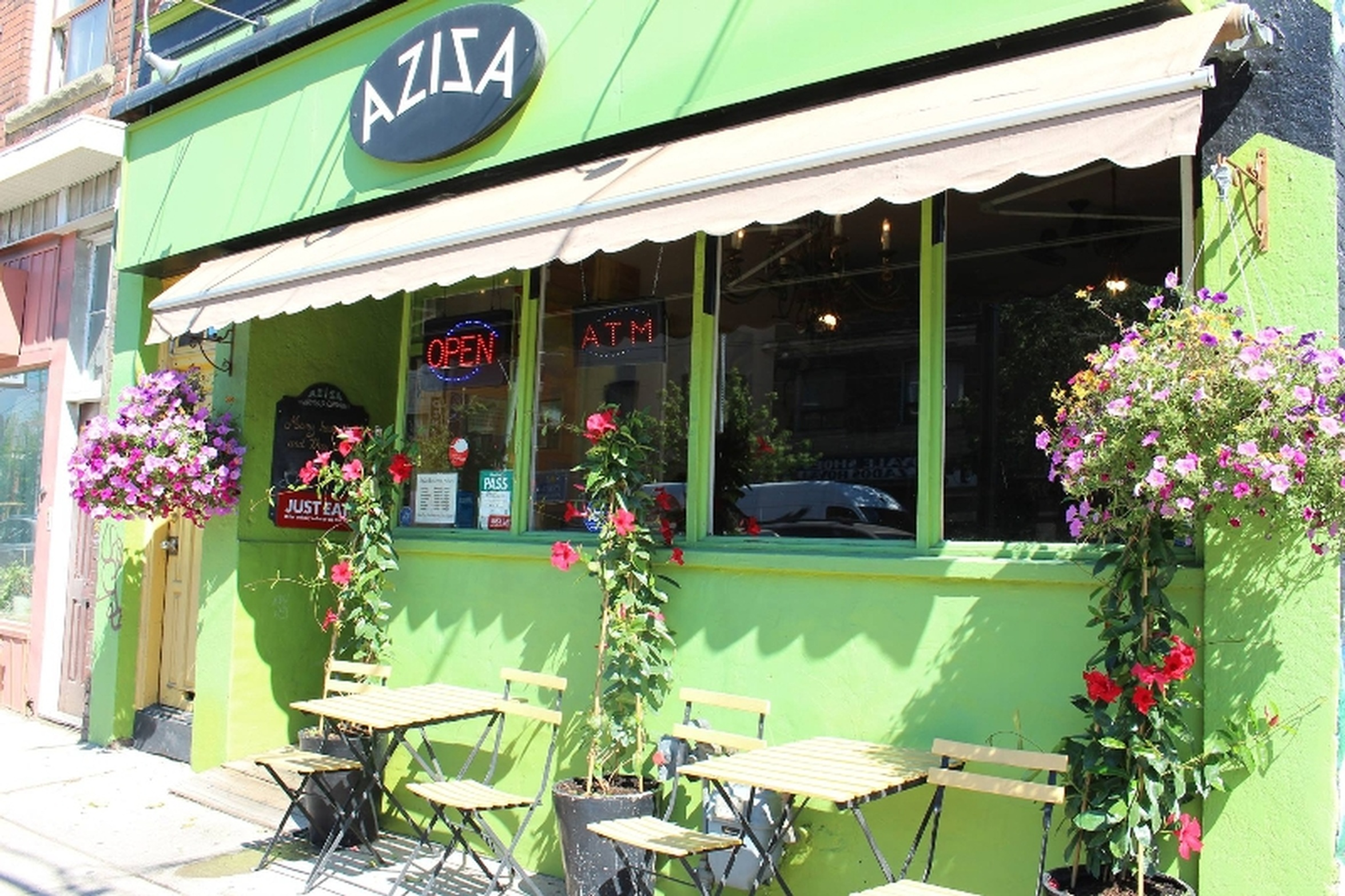 Food forthe body is not enough, at Aziza Cafe, we feed the soul.